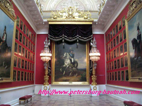 Gallery 1812 in der Eremitag