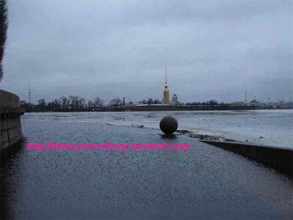 Hochwasser Petersburg 2005